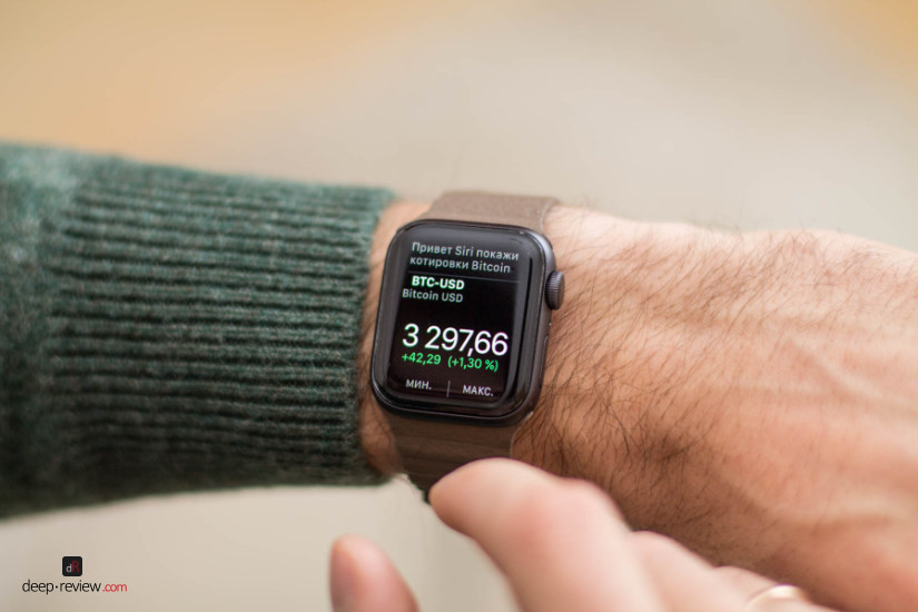 Apple Watch 4 Bitcoin