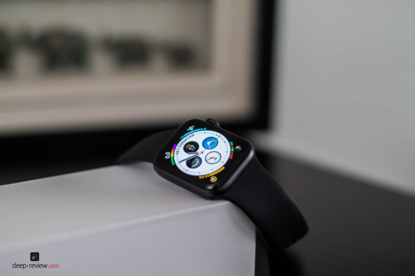 Apple Watch 4 Экран включен
