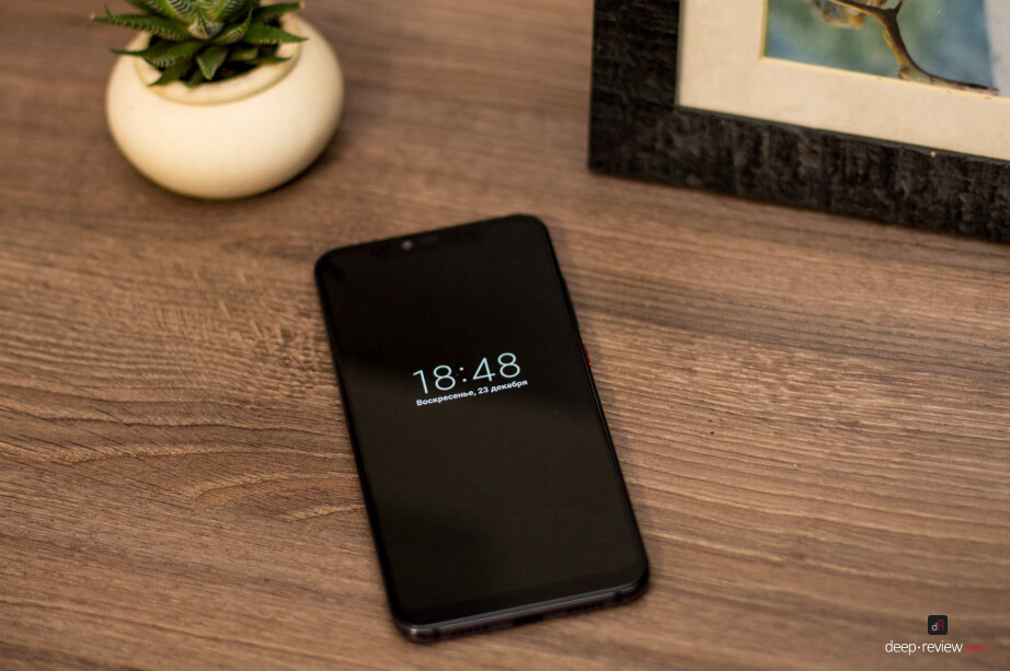 Xiaomi Mi 8 Pro активный экран