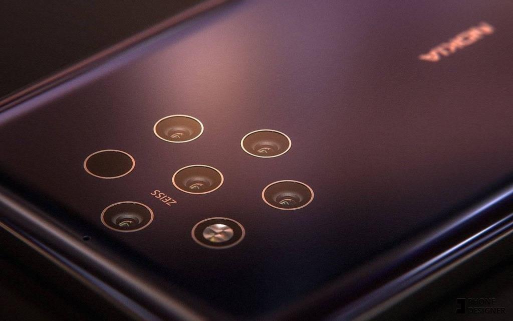 Камеры Nokia 9