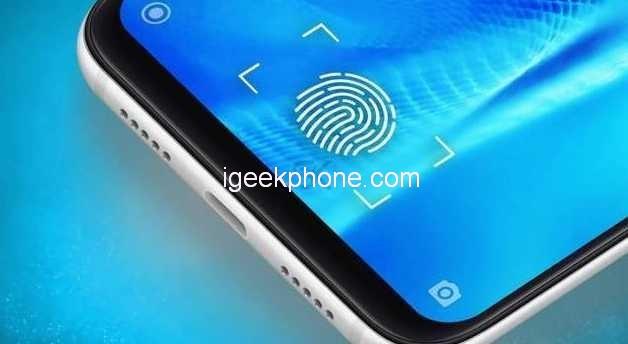 Xiaomi Mi 9 датчик отпечатка пальцев