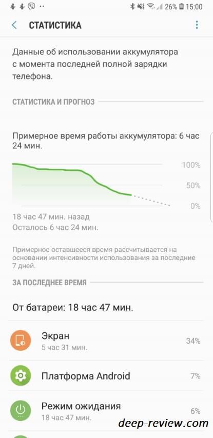 Note 9 аккумулятор