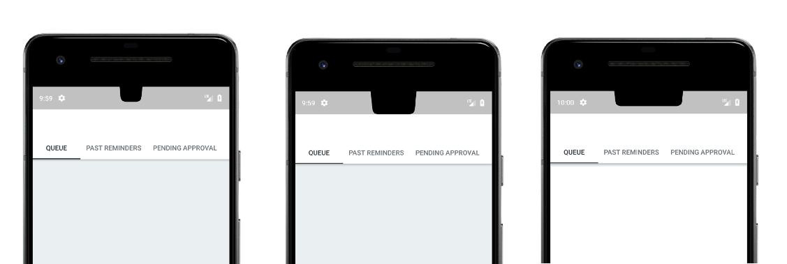 Поддержка выреза в экране Android Pie