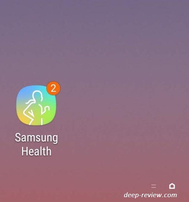 Значки на иконках Galaxy Note 9