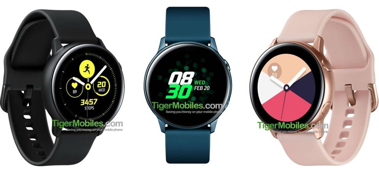 Galaxy Watch Active во всех цветах