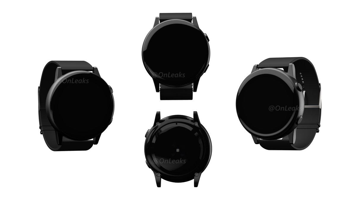 Первые рендеры умных часов Samsung Galaxy Active
