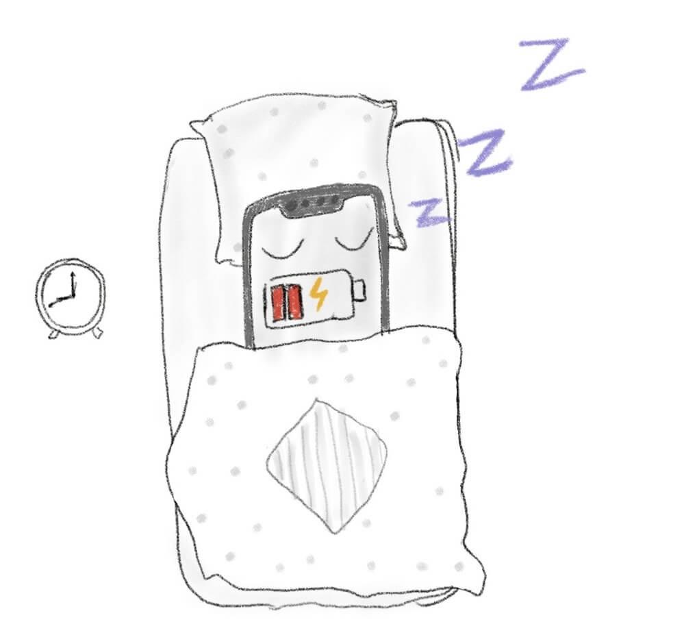 Оставлять ли телефон на зарядке на ночь