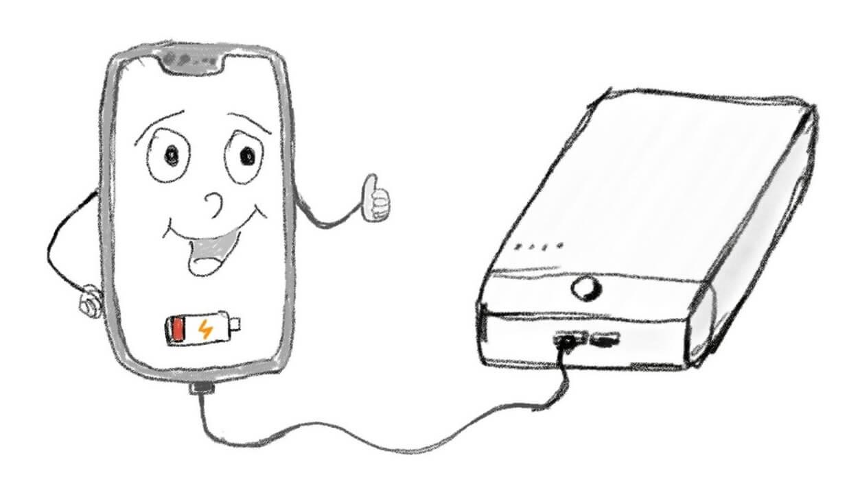 Можно ли заряжать смартфон от компьютера?