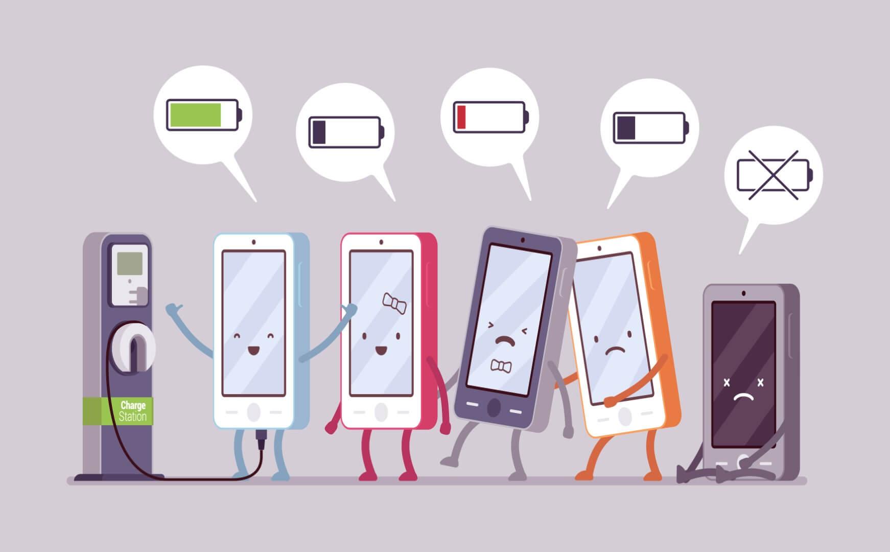 Как правильно заряжать телефон