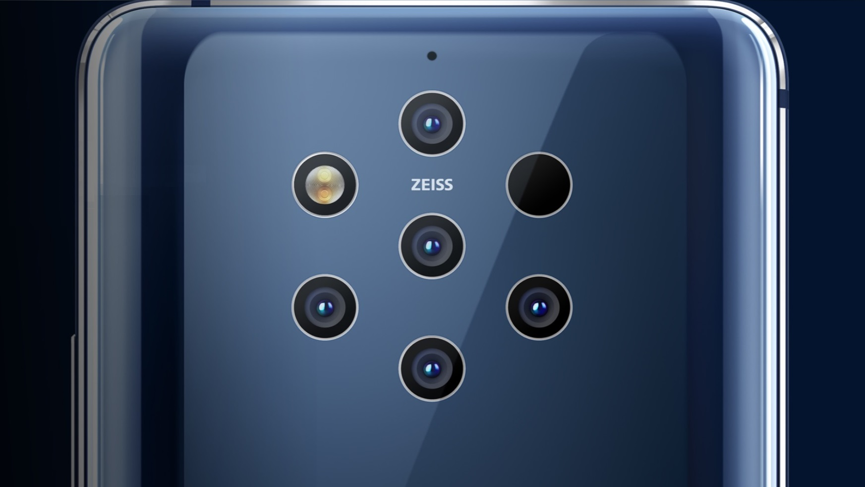 Камера Nokia 9 PureView