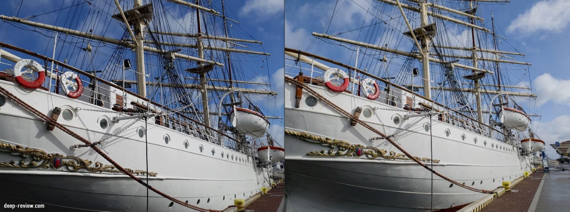 Сравнение-6 JPEG-фото с RAW-файлом на Galaxy S10