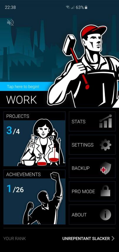 Дизайн помодоро-таймера Productivity Challenge Timer
