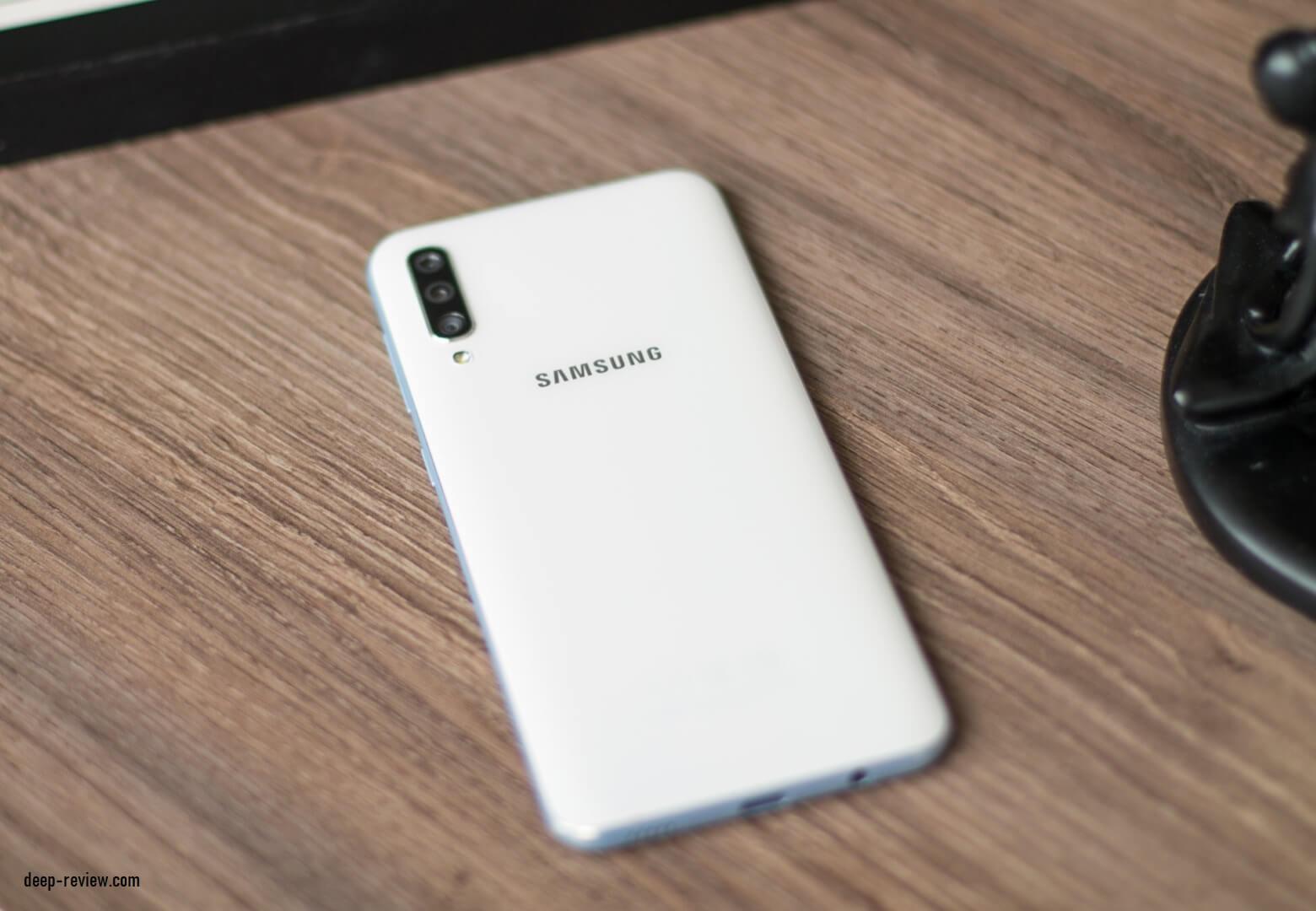Задняя крышка смартфона Samsung Galaxy A50