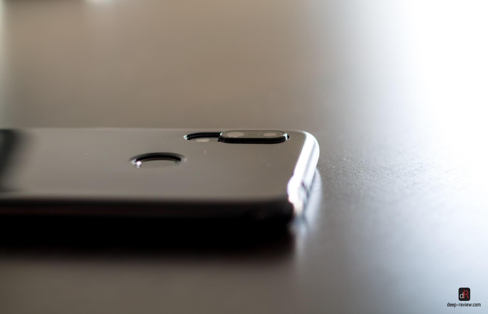 Выступ камеры в чехле Redmi Note 7