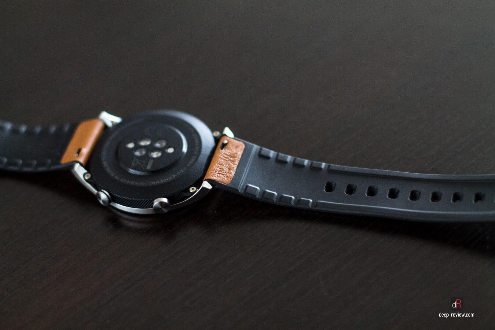 Как выглядит ремешок Honor Band Watch с обратной стороны