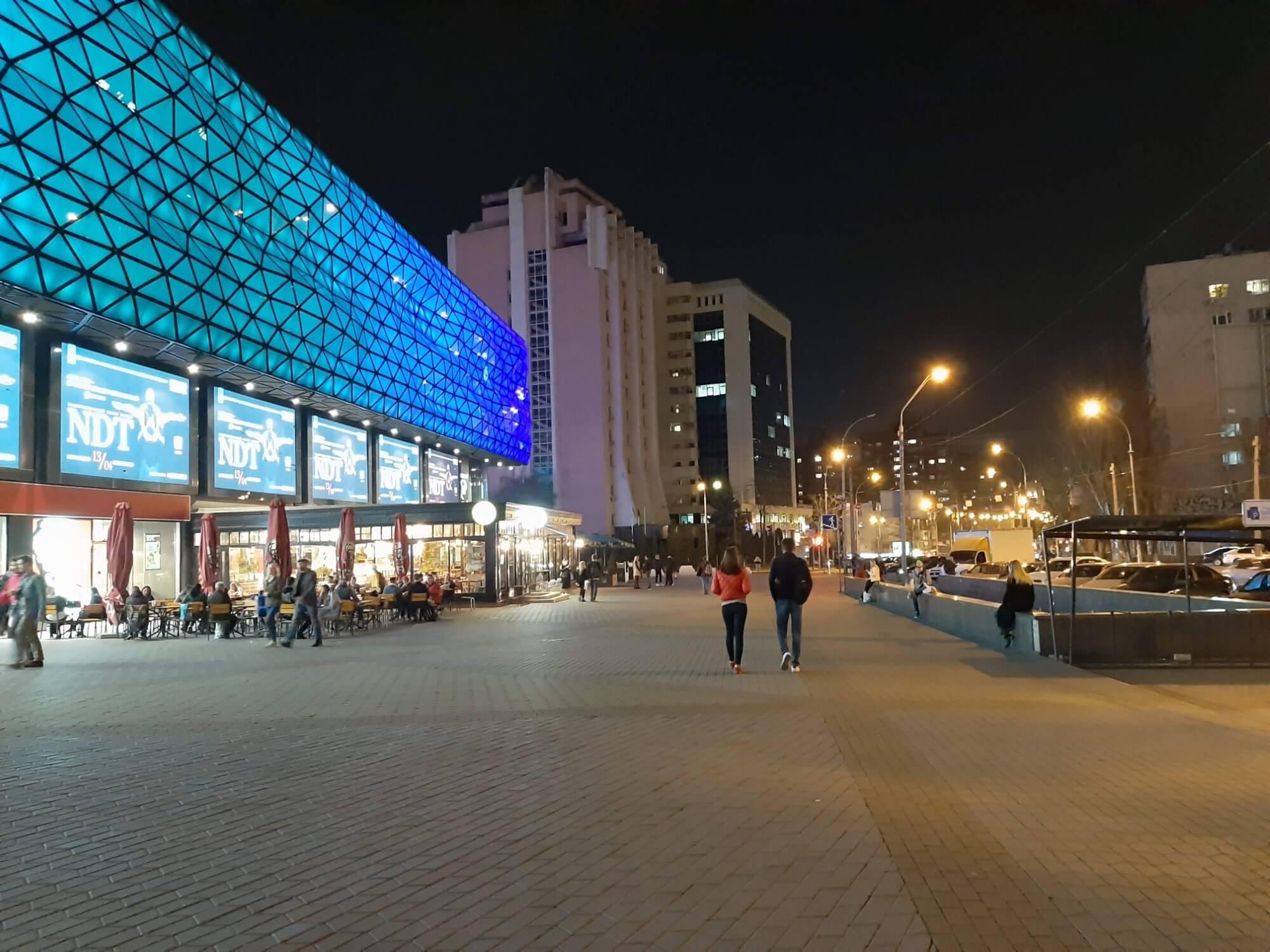 Пример ночной съемки на смартфон Galaxy A50
