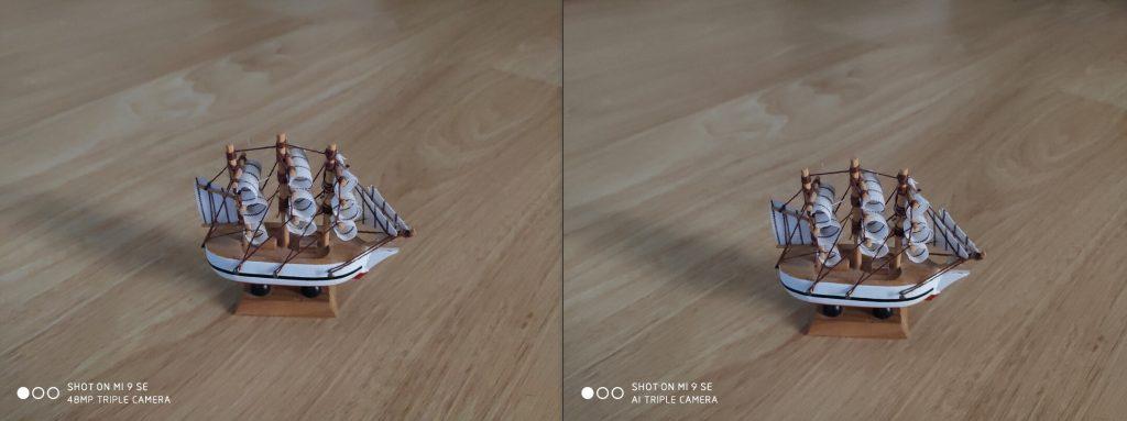 Сравнение камеры Xiaomi Mi 9 SE в режимах 48 Мп и 12 Мп при недостаточной освещенности