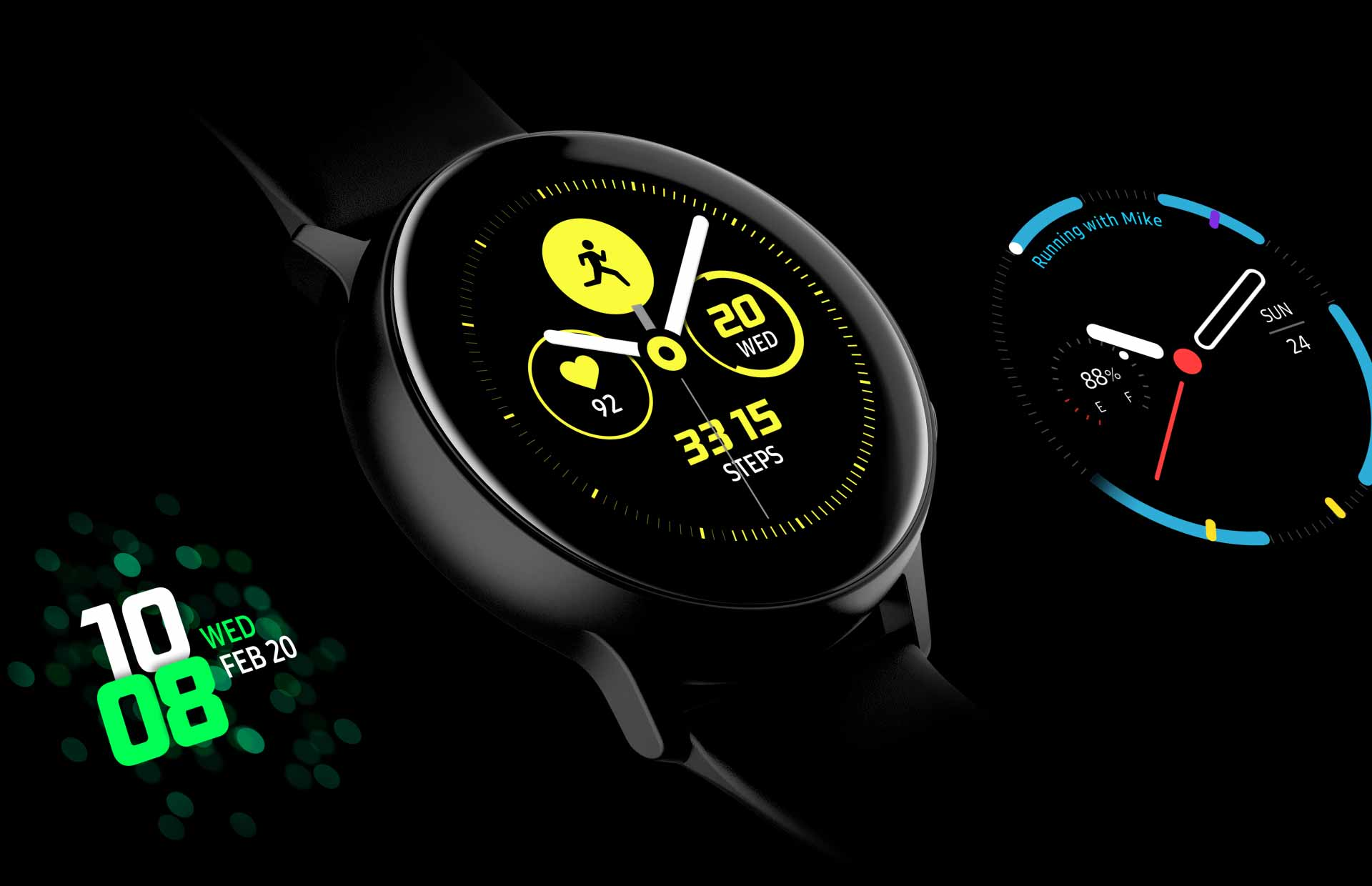 Лучшие циферблаты для Samsung Galaxy Watch Gear S2 S3