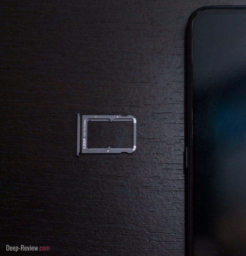 Лоток для SIM-карт телефона Xiaomi Mi 9
