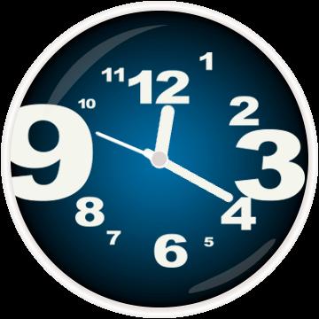 Циферблат с крупными цифрами для Galaxy Watch