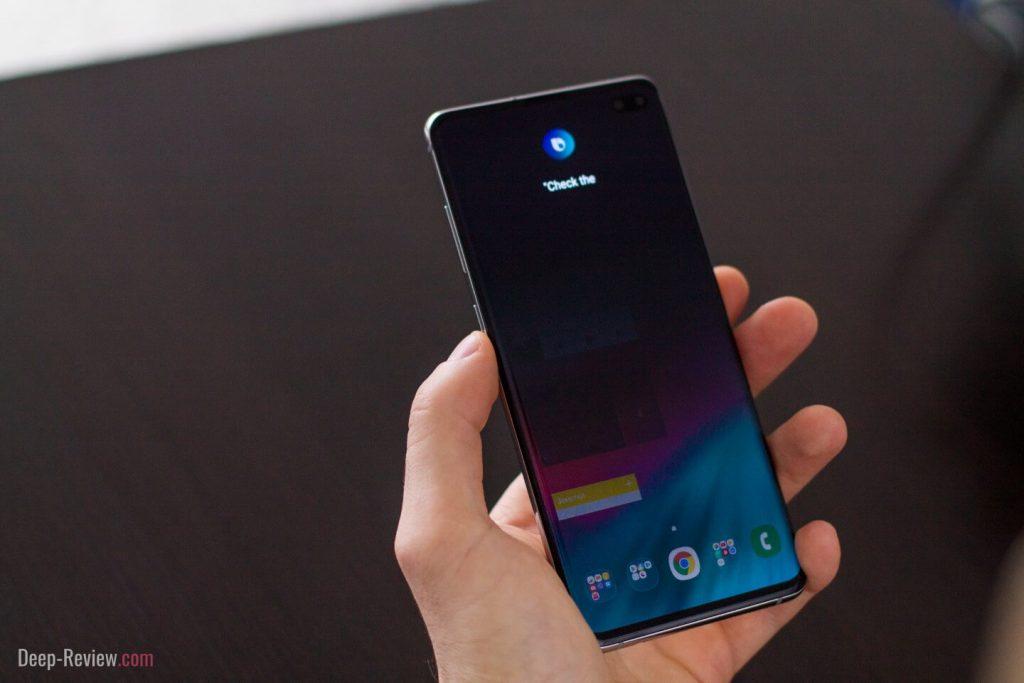 Бесполезная кнопка Bixby на смартфонах Samsung