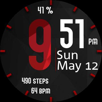 Электронный циферблат для Samsung Galaxy Watch