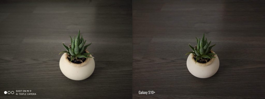 Сравнение снимков Mi 9 и Galaxy S10+ при плохом свете