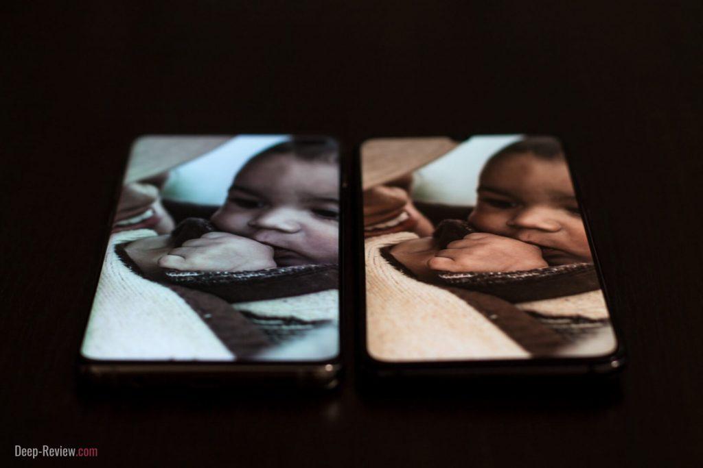 Сравнение углов обзора Xiaomi Mi 9 и Galaxy S10+