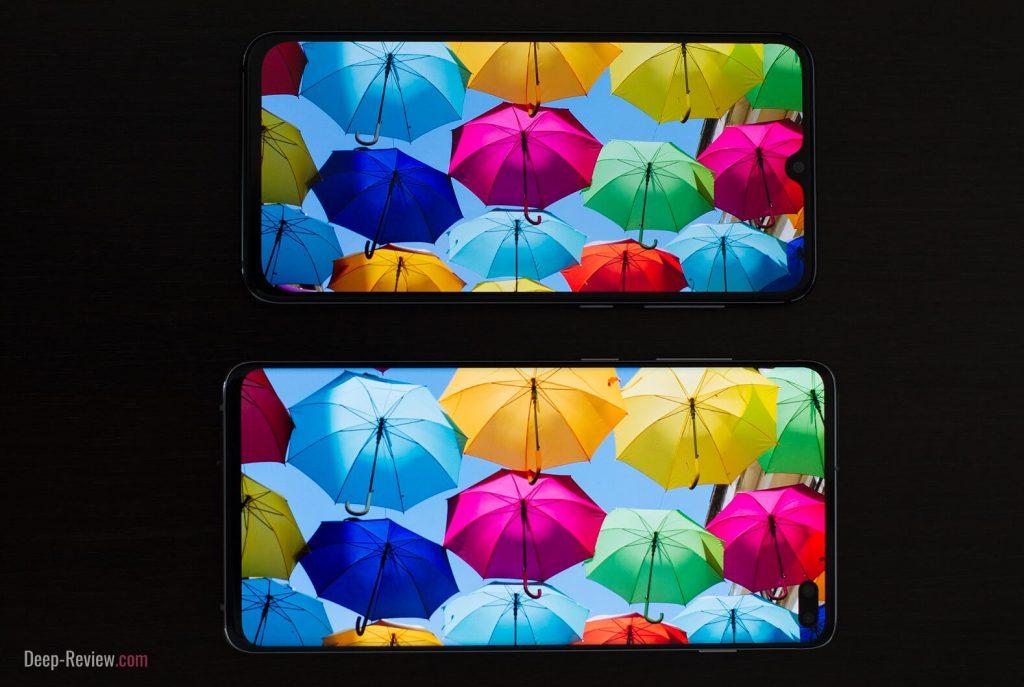 Сравнение экранов Xiaomi Mi 9 SE и Galaxy S10+
