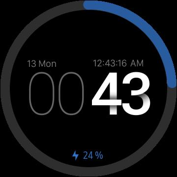 Дизайнерский циферблат для Samsung Gear S3 и Galaxy Watch