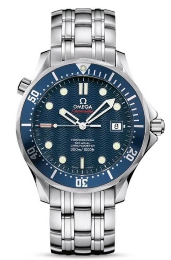 Часы Omega Seamaster с циферблатом волн
