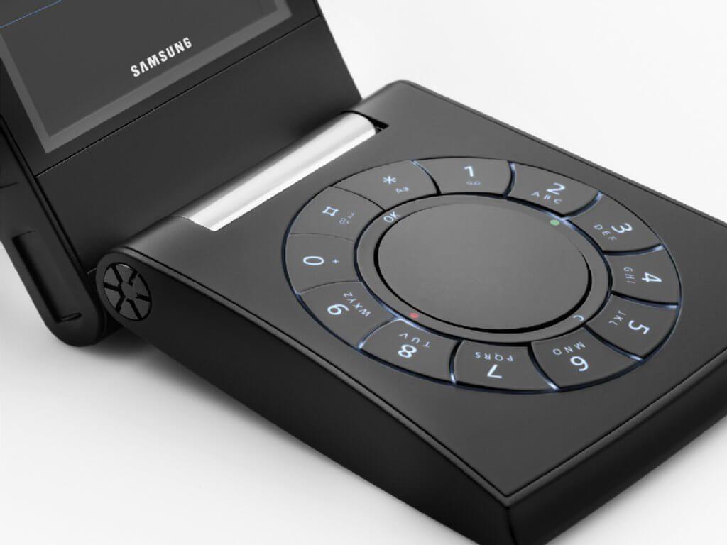 Телефон Samsung Serene внутри