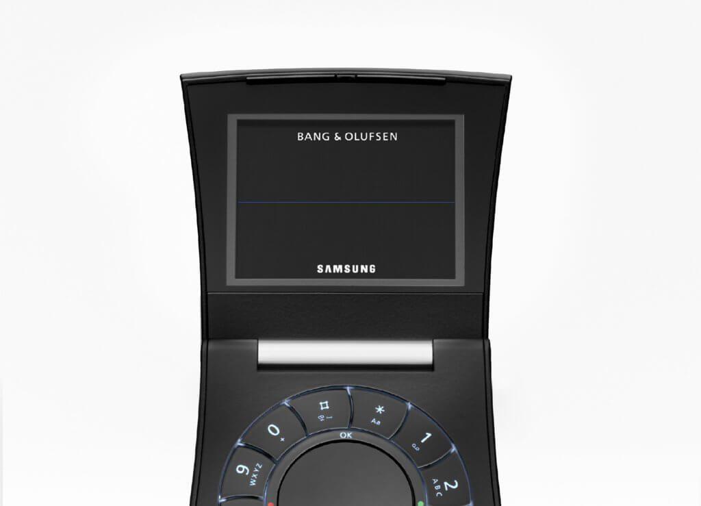 Экран телефона Samsung Serene