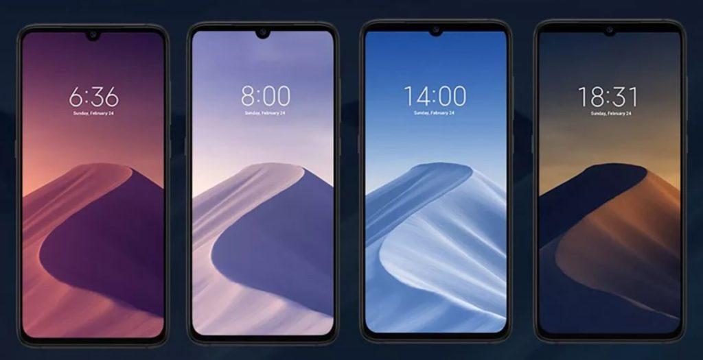 Динамические обои на Xiaomi Mi 9