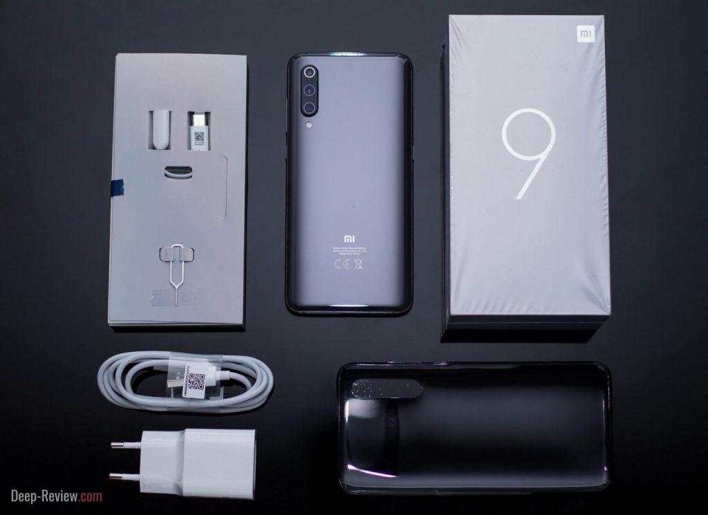 Что находится в комплекте с Xiaomi Mi 9