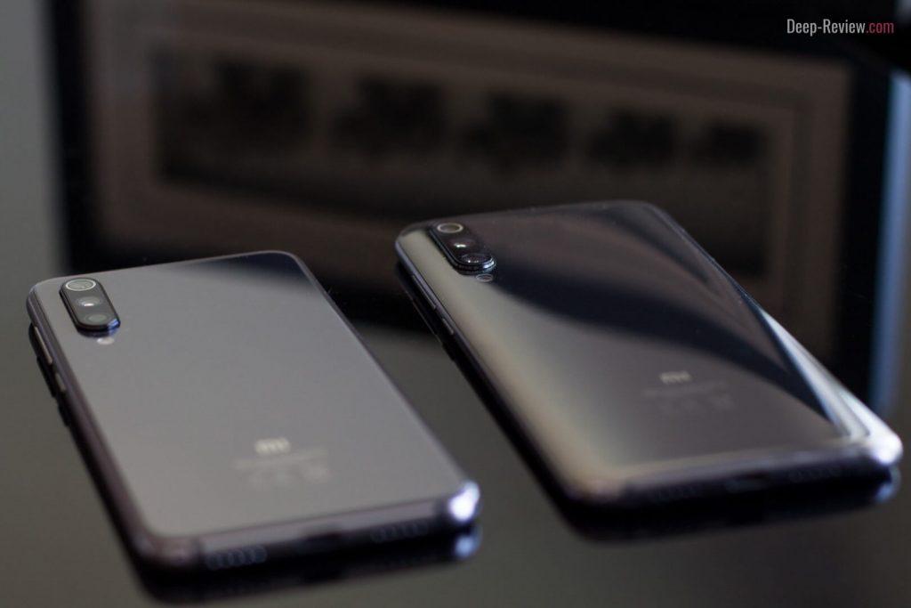 Сравнение Xiaomi Mi 9 SE и Mi 9