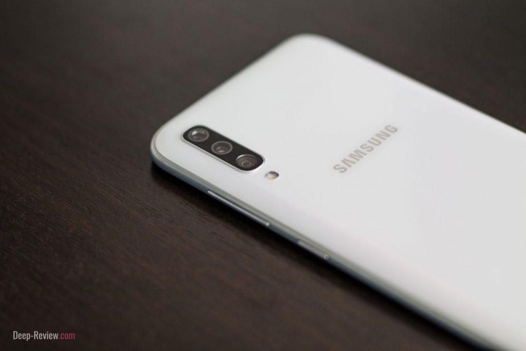 модуль камер на Samsung Galaxy A70