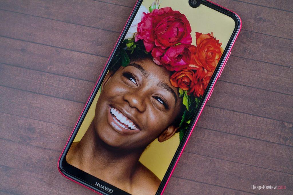 Качество экрана телефона Huawei Y7 2019