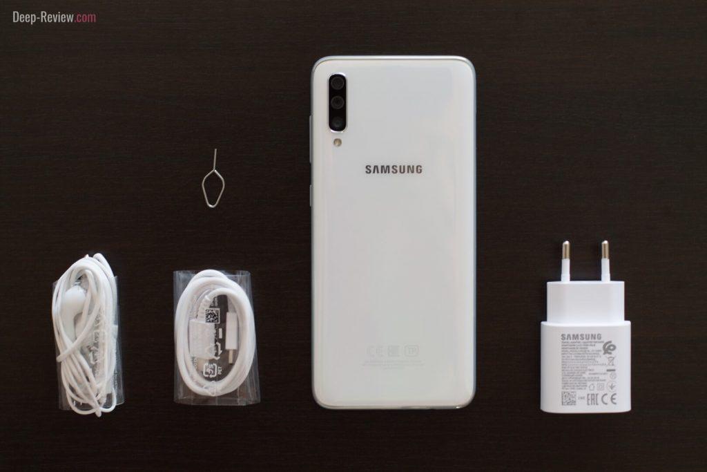 комплектация смартфона samsung galaxy a70
