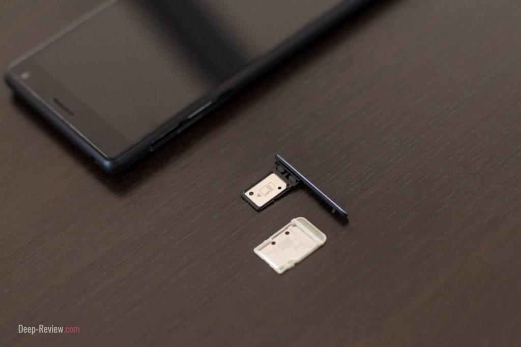 Лоток для SIM-карт и карты памяти Sony Xperia 10