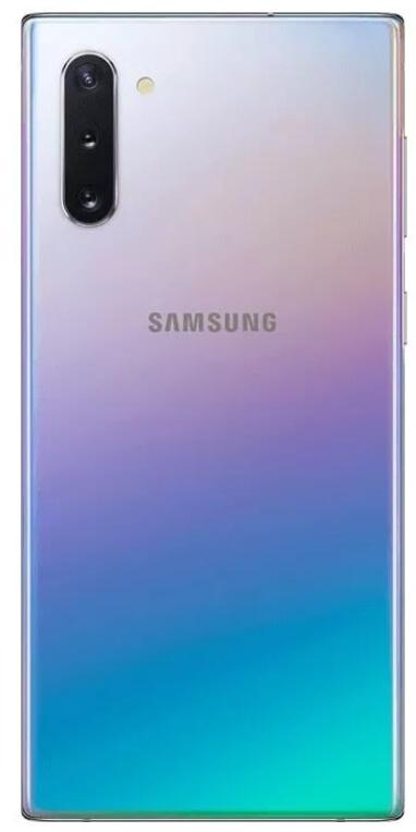 новый цвет Galaxy Note 10