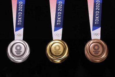 медали для олимпийских игр в Токио 2020