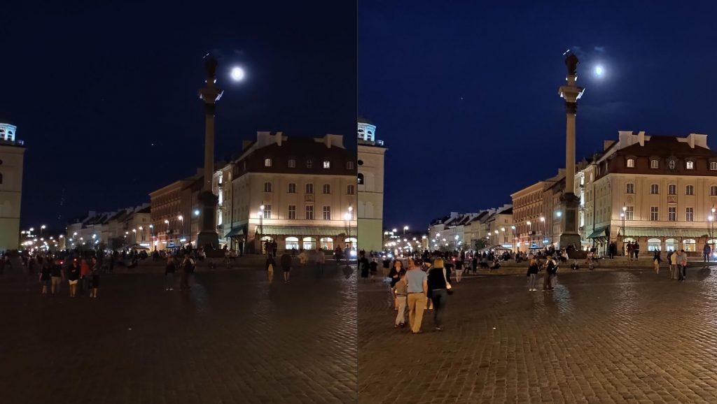 Сравнение снимка на автомате и в режиме Ночь камеры Xiaomi Mi 9T