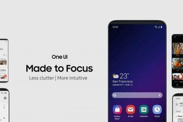 оболочка Samsung One UI 2.0