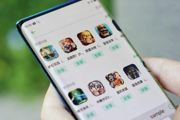 oppo показала смартфон с каскадным waterfall экраном (водопад)