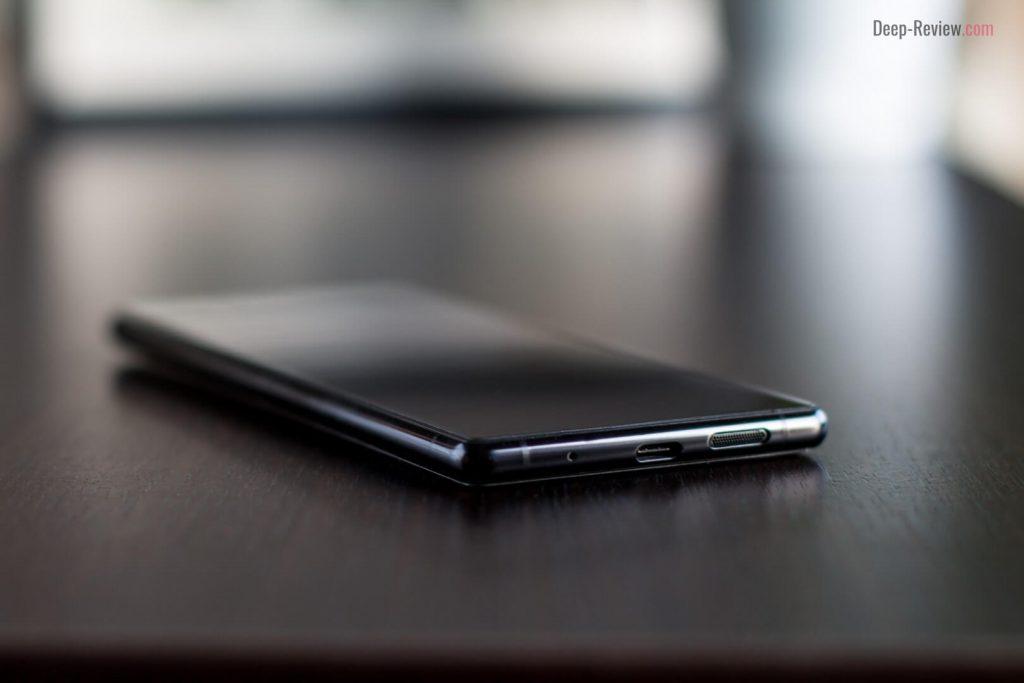 Sony Xperia 1 вид снизу