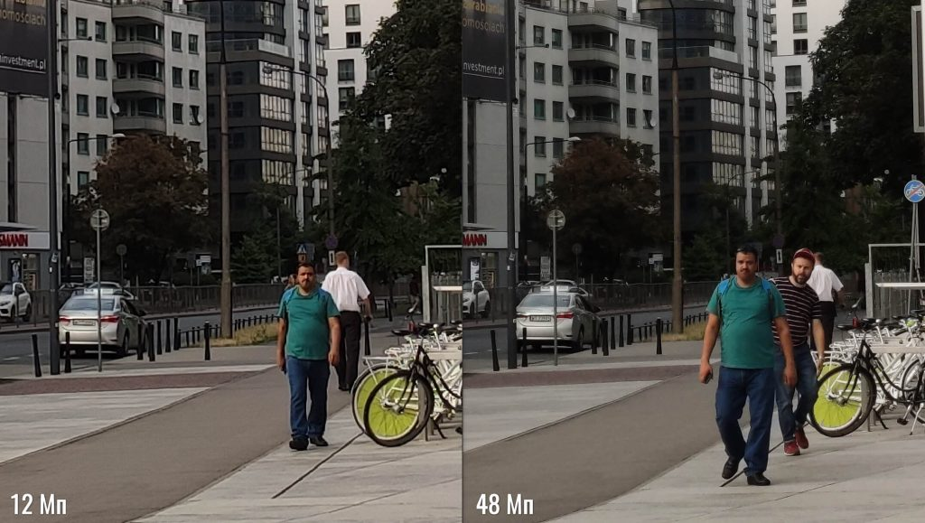 Пример снимков в режимах 12 Мп и 48 Мп камеры Xiaomi Mi 9T