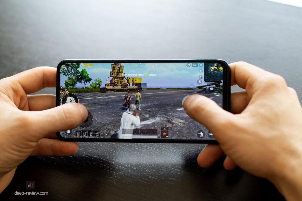 PUBG на смартфоне Huawei P Smart Z