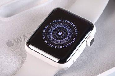 новые часы Apple Watch будут из керамики и титана