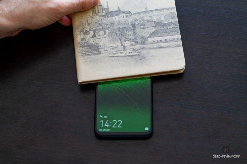 датчик приближения не реагирует ни на что в Huawei P Smart Z